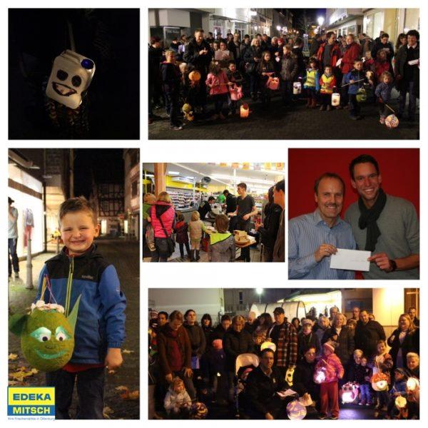 Edeka; Laternenfest; Lebenshilfe; Dillenburg