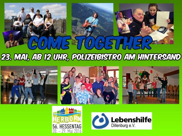 Hessentag; Aktion; Polizeibistro; Behinderung