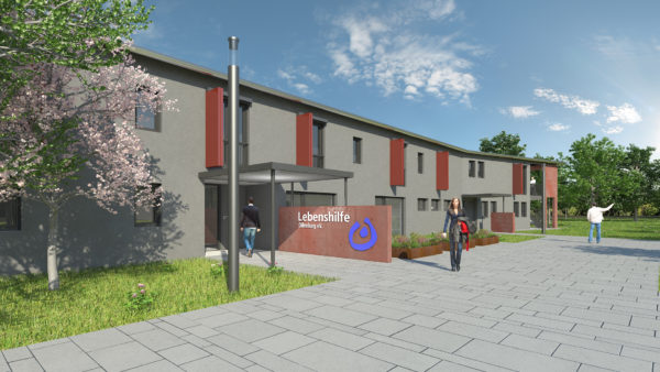 Wohnheim; Neubau; Haiger; Lebenshilfe