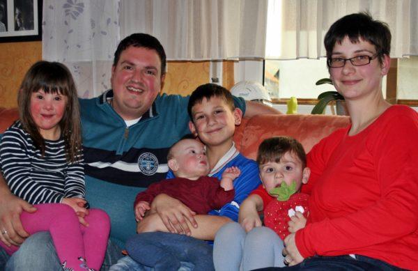 Familie, Down-Syndrom; Frühförderung