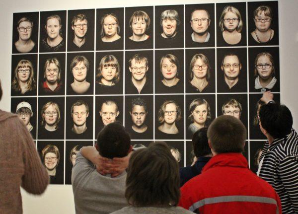 Down-Syndrom; Ausstellung; Bonn; Touchdown