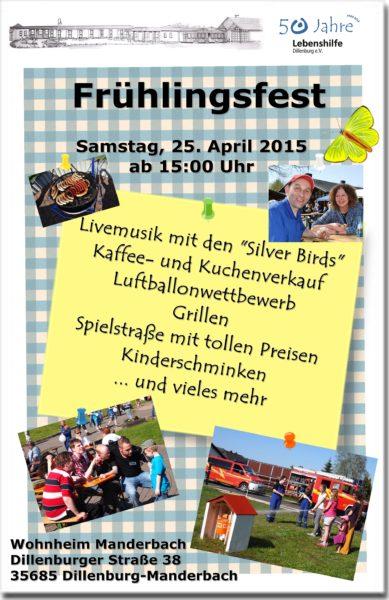 Frühlingsfest 2015; Manderbach
