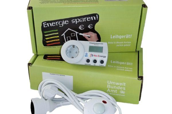 Energie: Messgerät; Strom; Haiger; Stadtbücherei